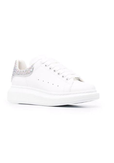 ALEXANDER MCQUEEN | Sneakers | 587691BIANCA-ARGENTO