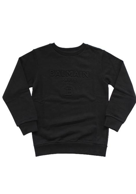 BALMAIN | sweatshirt | 6M4740NERO