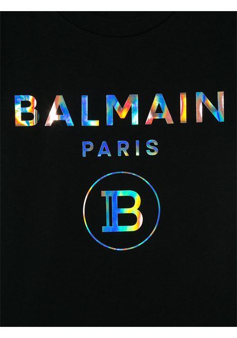 BALMAIN | T-shirt | 6M8021NERO