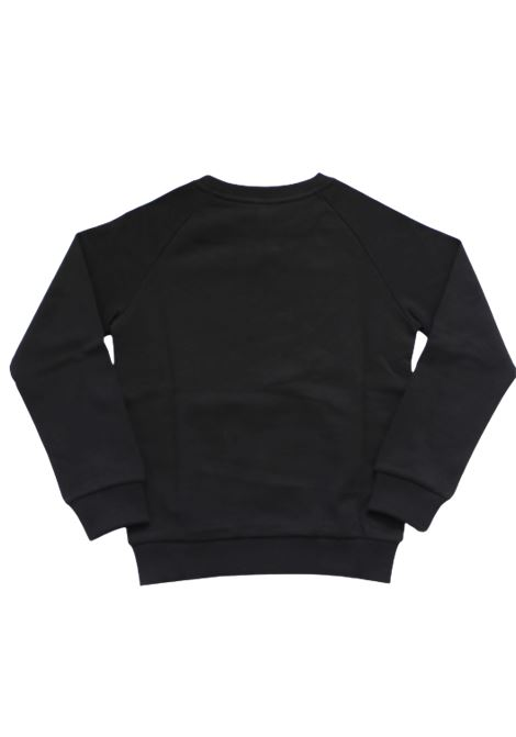 BALMAIN | sweatshirt | 6N4530NERO