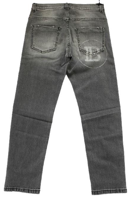 BALMAIN | jeans  | 6N6570GRIGIO