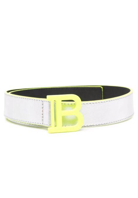 BALMAIN   belt   6P0511ARGENTO GIALLO FLUO