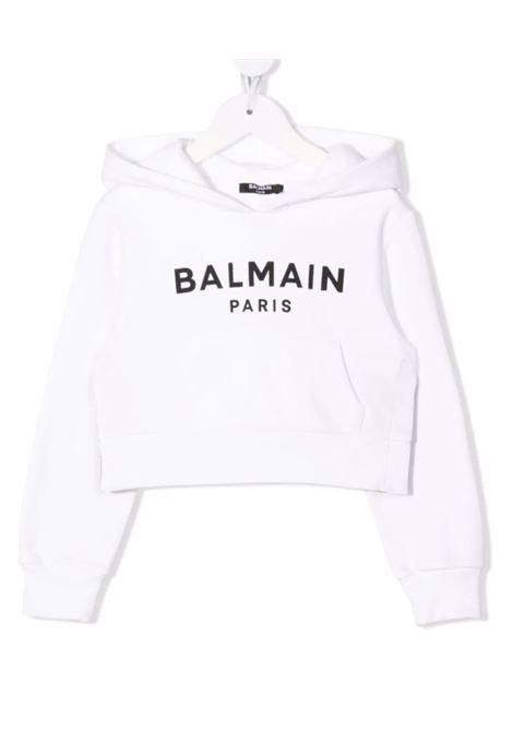 Felpa Balmain BALMAIN | Felpa | 6P4030BIANCO