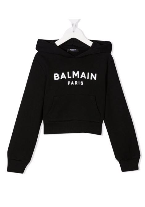Felpa Balmain BALMAIN | Felpa | 6P4030NERO