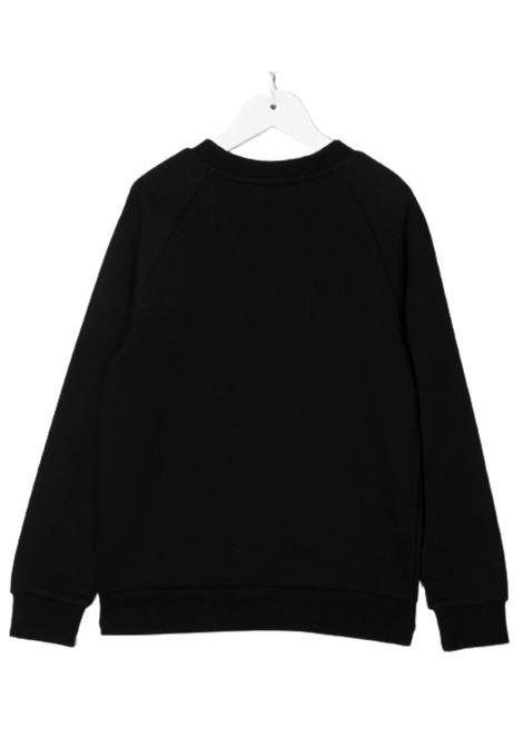 BALMAIN | sweatshirt | 6P4050NERO GIALLO FLUO