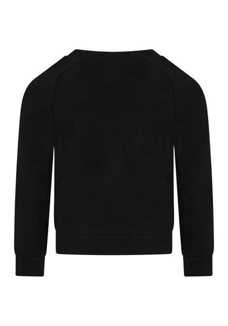 BALMAIN | sweatshirt | 6P4050NERO LOGO ORO