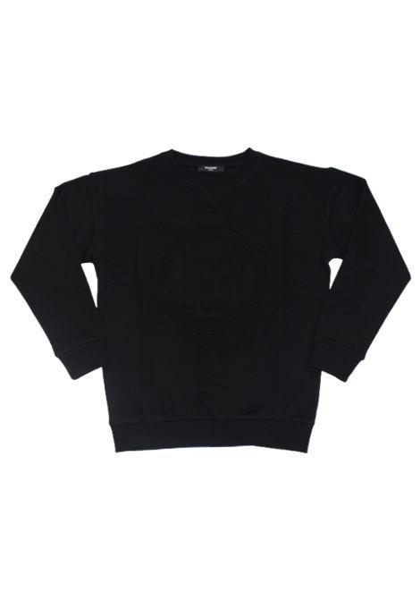 BALMAIN | sweatshirt | 6P4660NERO