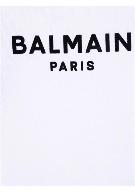 Felpa Balmain BALMAIN | Felpa | 6P4A10BIANCO