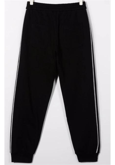 BALMAIN | trousers | 6P6797NERO ARGENTO
