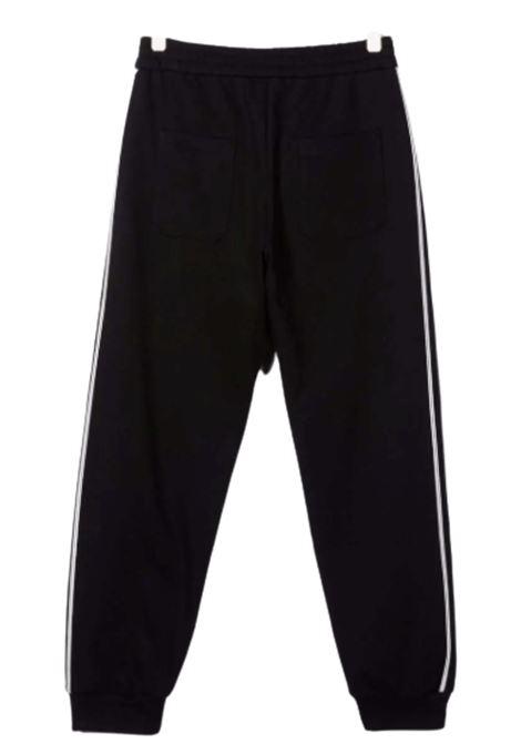 BALMAIN | trousers | 6P6797NERO BIANCO