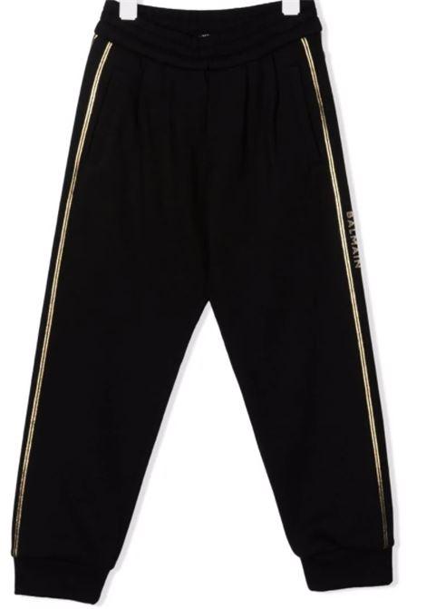 BALMAIN | trousers | 6P6797NERO ORO