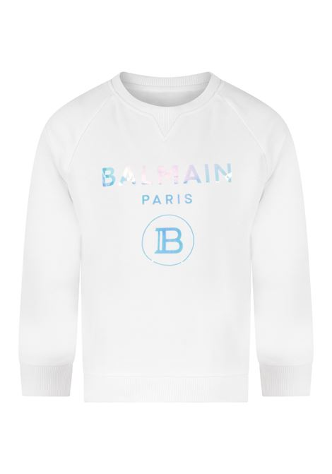 Felpa Balmain BALMAIN | Felpa | BAL45BIANCO