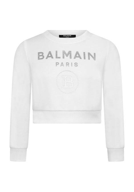 Felpa Balmain BALMAIN | Felpa | BAL46BIANCO