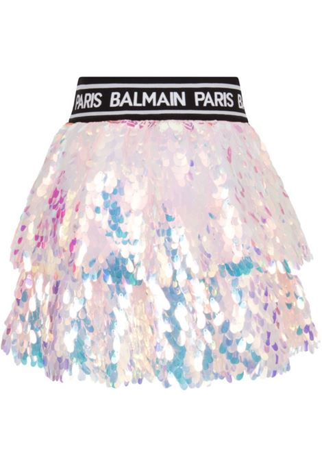 Gonna Balmain BALMAIN | Gonna | BAL51ROSA PAILLETTES