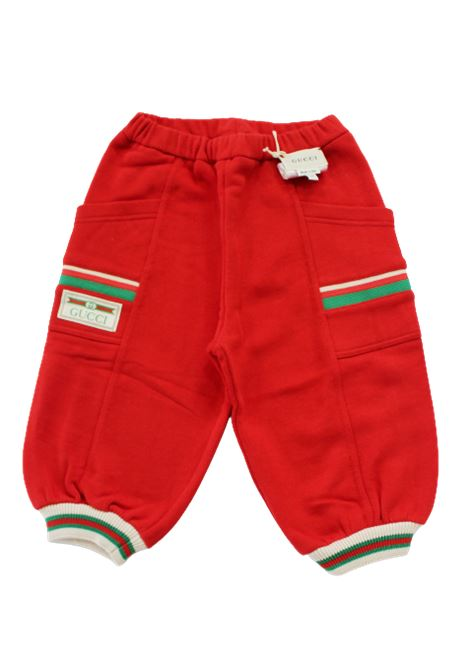 GUCCI | trousers | BMB631659ROSSO