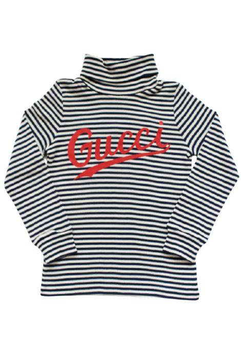 GUCCI | T-shirt | BMK617001BIANCO BLU