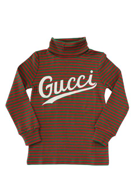 GUCCI | T-shirt | BMK617001VERDE ROSSO