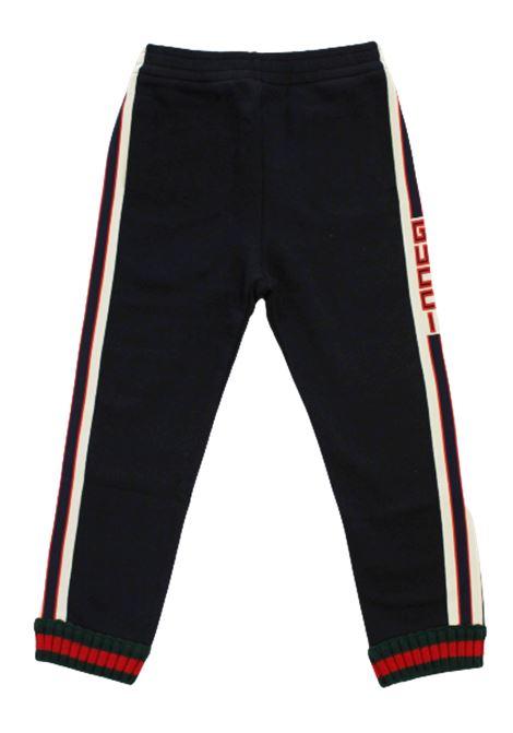 GUCCI | trousers | BMR497950BLU