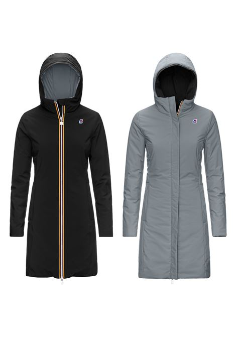 K-WAY | jacket | K1119BWNERO GRIGIO