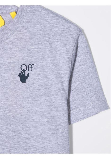 T-shirt Off White OFF WHITE | T-shirt | OBAA002F21JER0060546GRIGIO