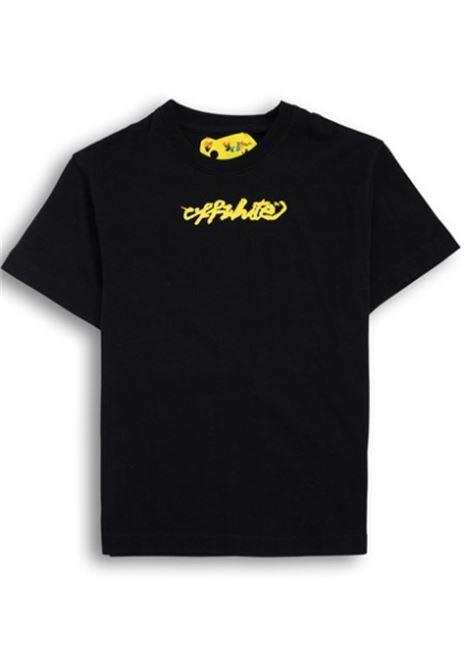 T-shirt Off White. OFF WHITE | T-shirt | OBAA002F21JER0071018NERO GIALLO