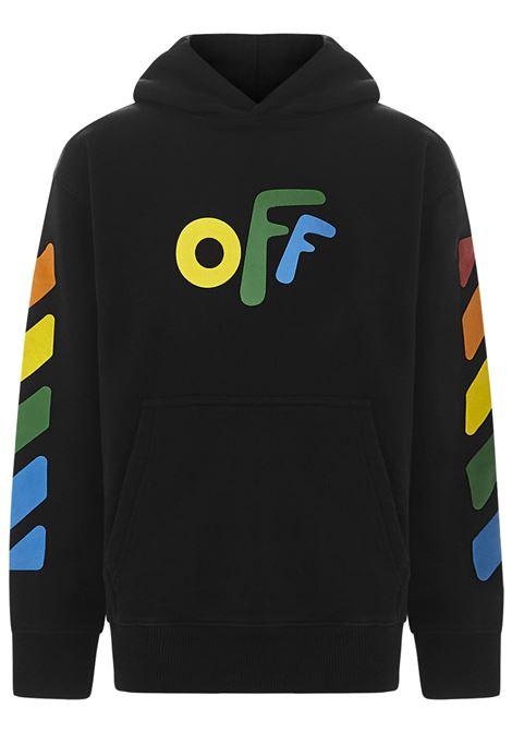 Felpa  Off White. OFF WHITE | Felpa | OBBB001F21FLE0011084NERO