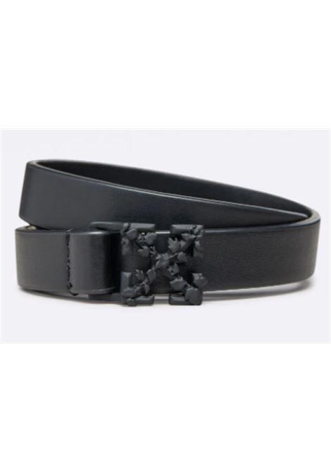 Cintura Off White OFF WHITE | Cintura | OBRB001F21LEA0011000NERO