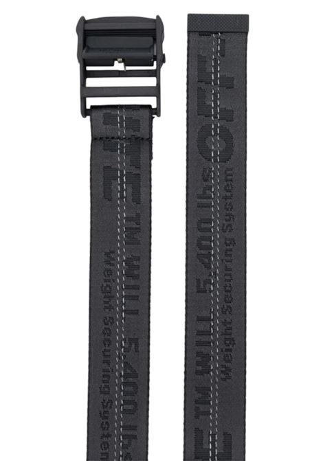 OFF WHITE   belt   OWRB011F21FAB0011010NERO