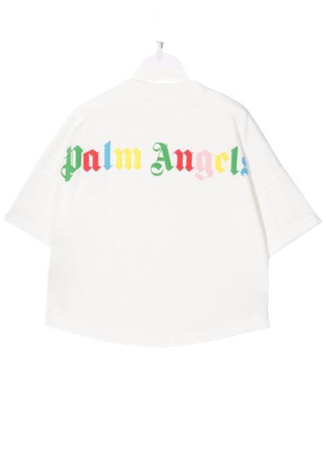 T-shirt Palm Angels PALM ANGELS | T-shirt | PBAA002F21JER0010184BIANCO