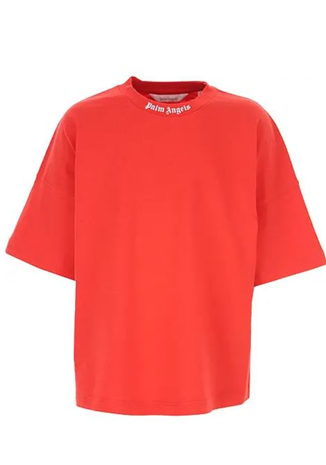 T-shirt Palm Angels PALM ANGELS | T-shirt | PBAA002F21JER0012501ROSSO