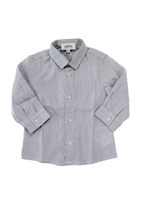 ALETTA | shirt | ALE65BIANCO AZZURRO