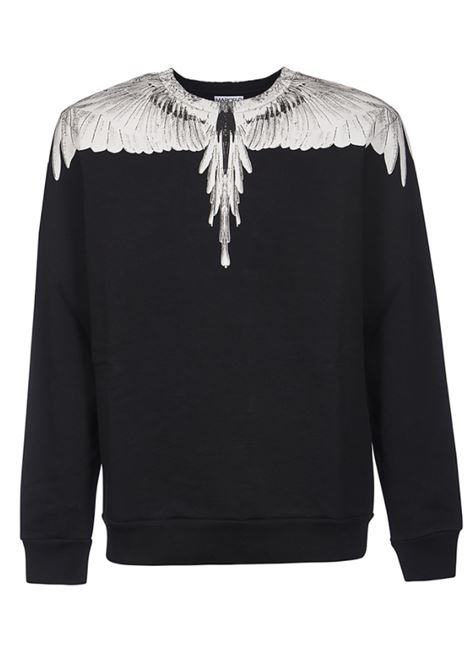 BURLON | sweatshirt | CMBA009R21FLE0011001NERO