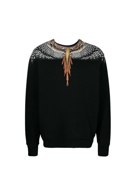 BURLON | sweatshirt | CMBA009S21FLE0011020NERO