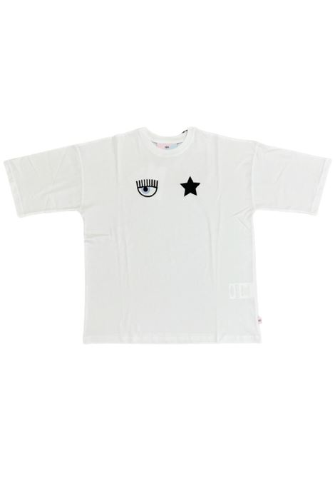 CHIARA FERRAGNI   T-shirt   71CBHT02BIANCO