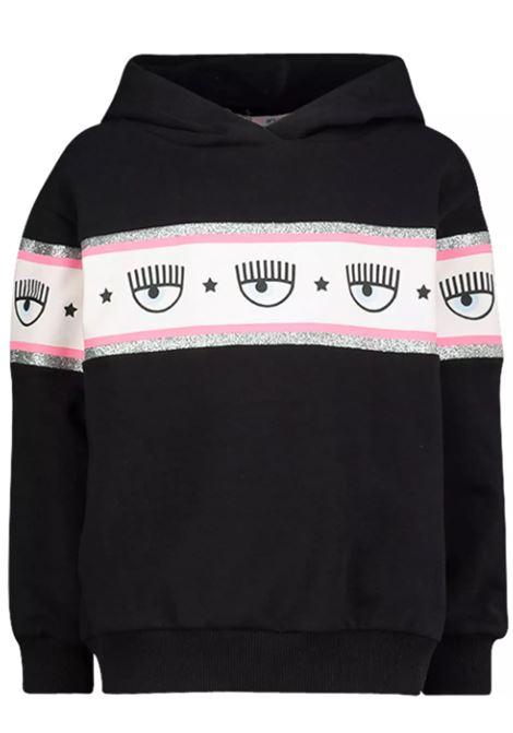 CHIARA FERRAGNI   sweatshirt   71CBIF01NERO