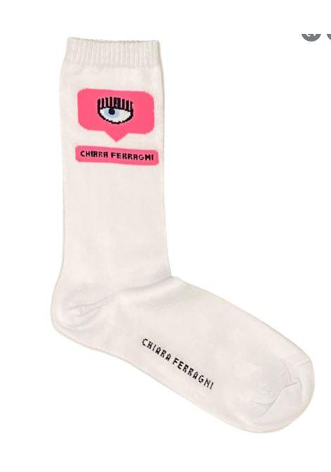 CHIARA FERRAGNI   knee sock   71SB0J01BIANCO