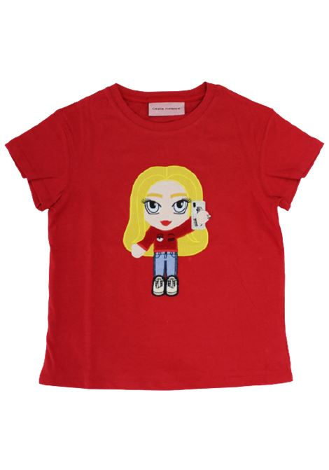 T-shirt Chiara Ferragni CHIARA FERRAGNI | T-shirt | FER38ROSSO