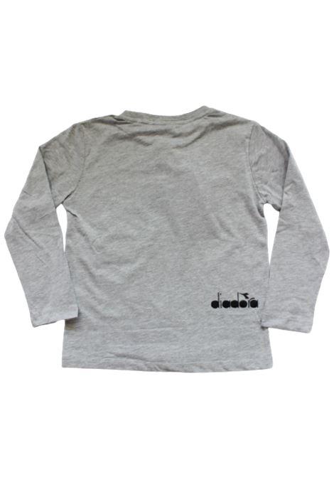 DIADORA | T-shirt | 025447GRIGIO