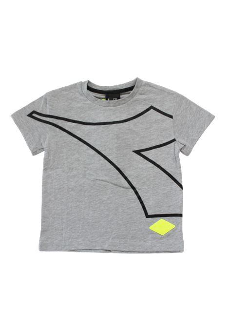 DIADORA | T-shirt | 025454GRIGIO