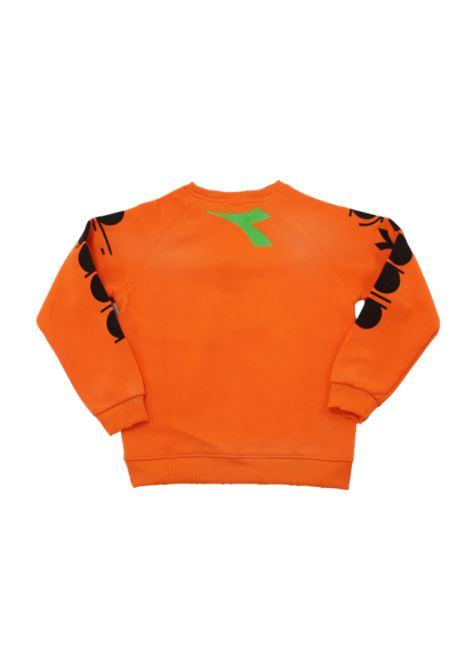 DIADORA | sweatshirt | 025718ARANCIO FLUO