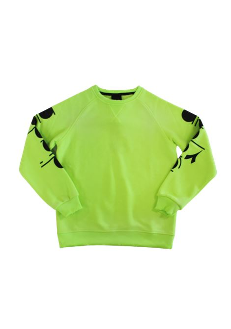 DIADORA | sweatshirt | 025718GIALLO FLUO