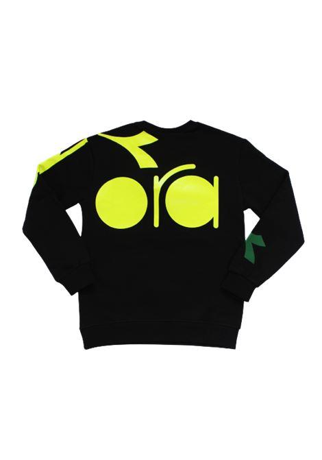 DIADORA | sweatshirt | 025721NERO
