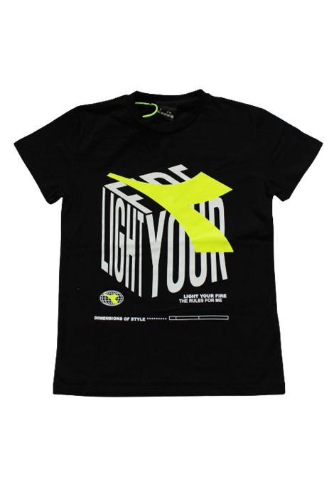 DIADORA | T-shirt | 025980NERO