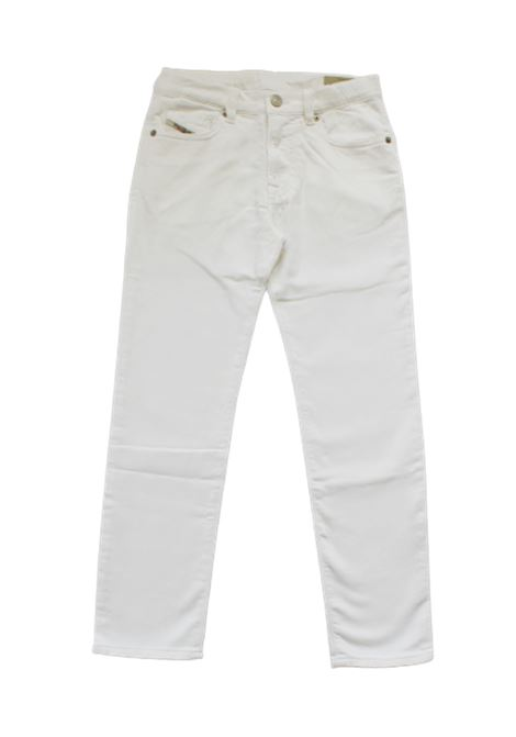 DIESEL | trousers | 00J46VBIANCO