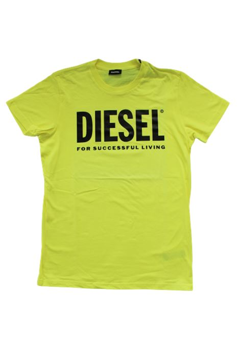 DIESEL | T-shirt | 00J4P6GIALLO FLUO
