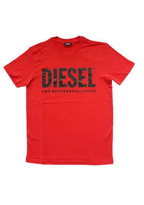 DIESEL | T-shirt | 00J4P6ROSSO