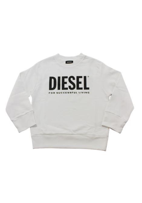 DIESEL | sweatshirt | 00J4PQBIANCO