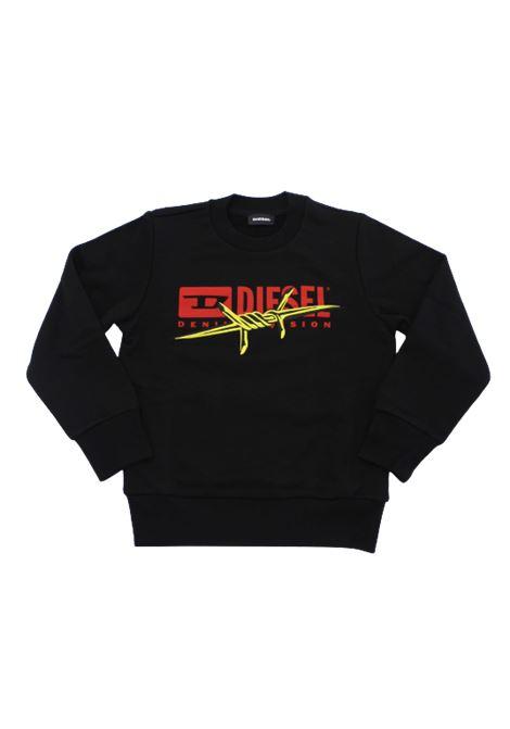 DIESEL | sweatshirt | 00J4Z1NERO