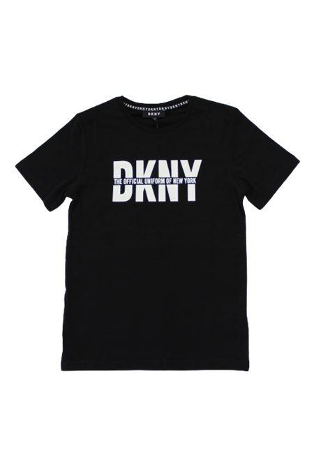 DKNY | T-shirt | D25C97NERO