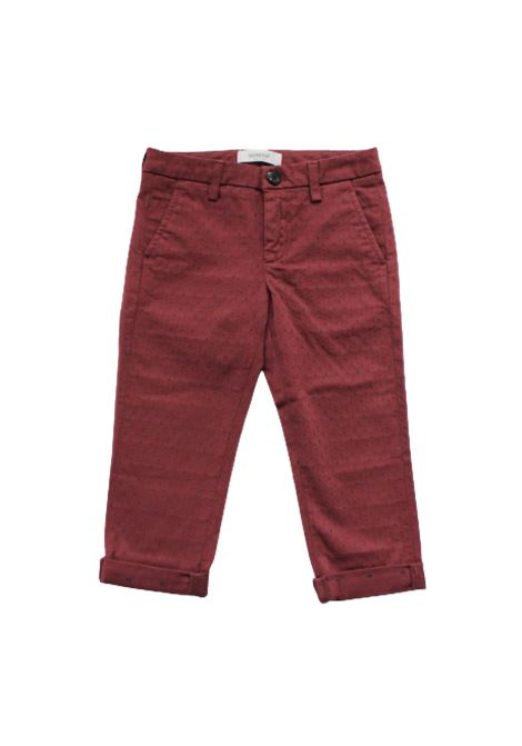 Pantalone Dondup DONDUP   Pantalone   DON313BORDEAUX